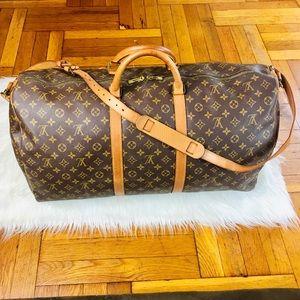 ✈️🌈 Louis Vuitton Bandoulier 60 Travel Bag